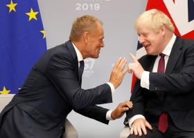 Ντόναλντ Τουσκ και Μπόρις Τζόνσον θα συνομιλήσουν για το Brexit - Κεντρική Εικόνα