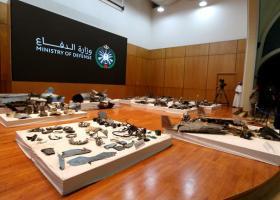 Σ. Αραβία: Συντρίμμια ιρανικών πυραύλων και drones παρουσίασαν οι αρχές - Κεντρική Εικόνα