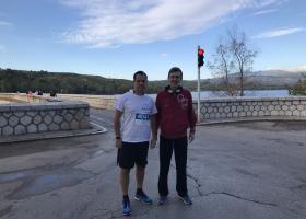 Άδωνις και Πορτοσάλτε μαζί στον 5ο αγώνα δρόμου στη Λίμνη Μαραθώνα - Κεντρική Εικόνα