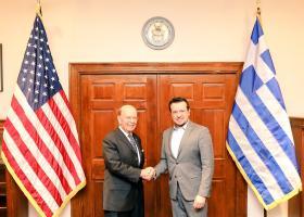 Συνάντηση Ν. Παππά με τον υπουργό Εμπορίου των ΗΠΑ - Κεντρική Εικόνα