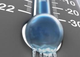 Ισχυρός παγετός σε πολλές μεγάλες πόλεις - Πού το θερμόμετρο έπεσε στους -12,3β. Κελσίου (Πίνακας) - Κεντρική Εικόνα