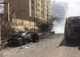 Έκρηξη παγιδευμένου αυτοκινήτου στην Αλεξάνδρεια - Δύο οι νεκροί - Κεντρική Εικόνα