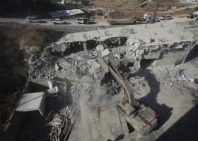 Οι Ισραηλινοί κατεδαφίζουν σπίτια Παλαιστινίων στην Ιερουσαλήμ (videos) - Κεντρική Εικόνα