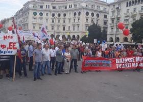 Σύσκεψη σωματείων του ΠΑΜΕ ενόψει του συλλαλητηρίου στη ΔΕΘ - Κεντρική Εικόνα