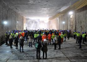 Ολοκληρώθηκε η διάνοιξη της πρώτης σήραγγας του Μετρό Θεσσαλονίκης (video-photo) - Κεντρική Εικόνα