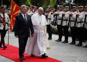 Βόρεια Μακεδονία: Ολοκληρώθηκε η επίσκεψη του Πάπα Φραγκίσκου στα Σκόπια - Κεντρική Εικόνα