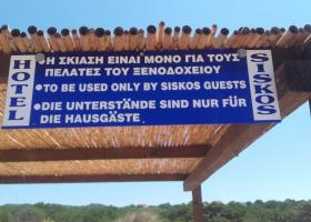 Το δικαίωμα της σκίασης και τα περίεργα στέγαστρα πάνω σε αμμόλοφους με σπάνια κρινάκια (Photos) - Κεντρική Εικόνα