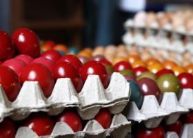 Ζεστάθηκε η πασχαλινή αγορά της Θεσσαλονίκης  - Κεντρική Εικόνα