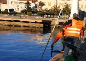 «Ψάρεψαν» δεκάδες ηλεκτρικά πατίνια από τον Θερμαϊκό (Video) - Κεντρική Εικόνα