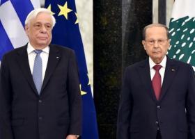 ΠτΔ από Λίβανο: Η Ευρώπη δεν ήταν όσο έπρεπε παρούσα στην πολύπαθη αυτή περιοχή - Κεντρική Εικόνα