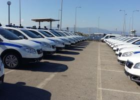 Παραδόθηκαν στην Ελληνική Αστυνομία τα 30 οχήματα - δωρεά Λεμπιδάκη  - Κεντρική Εικόνα