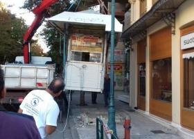 Ξηλώνουν «ανενεργά» περίπτερα στον Πειραιά - Κεντρική Εικόνα