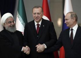 Τριμερής σύνοδος για τη Συρία: Ο Ερντογάν υποδέχεται Πούτιν και Ροχανί στην Κωνσταντινούπολη - Κεντρική Εικόνα
