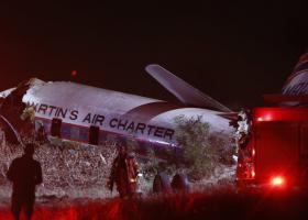 Η συντριβή αεροσκάφους στη Νότια Αφρική μέσα από την καμπίνα (video) - Κεντρική Εικόνα