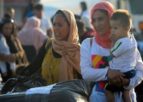 Στη Θεσσαλονίκη και το δεύτερο πλοίο με πρόσφυγες από τη Λέσβο - Κεντρική Εικόνα
