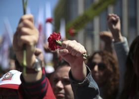 Συλλαλητήρια και πορείες για την Πρωτομαγιά - Κεντρική Εικόνα
