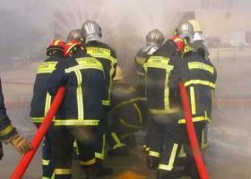 Κατασβέστηκε φωτιά στο Τμήμα Διαχείρισης Μεταναστών στη Λητή Θεσσαλονίκης - Κεντρική Εικόνα