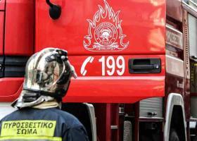 Πυρκαγιά σε βιοτεχνία στον Ασπρόπυργο Αττικής - Κεντρική Εικόνα