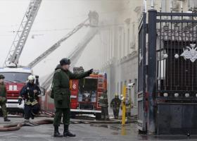 Ρωσία: Ένας νεκρός από πυρκαγιά σε εμπορικό κέντρο της Μόσχας - Κεντρική Εικόνα