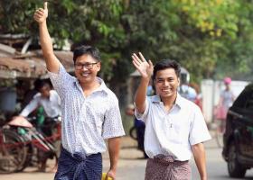 Μιανμάρ: Ελεύθεροι οι δημοσιογράφοι του Reuters - Κεντρική Εικόνα