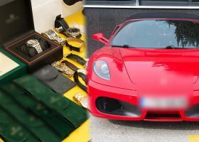 Ελεύθεροι οι μαφιόζοι Ρομά - Πήραν πίσω ακόμη και τη Ferrari του αρχηγού - Κεντρική Εικόνα