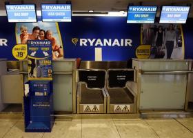 Χωρίς προβλήματα προς το παρόν οι πτήσεις της Ryanair, παρά την απεργία των Βρετανών πιλότων - Κεντρική Εικόνα