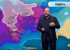 Αρναούτογλου: Σοβαρή επιδείνωση από Σάββατο - Πού προβλέπει βροχές και πυκνά χιόνια (video) - Κεντρική Εικόνα