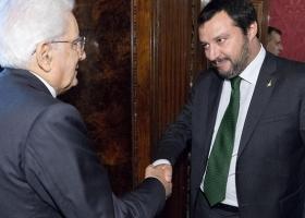 Ιταλία: Συνάντηση Ματαρέλα-Σαλβίνι - Κεντρική Εικόνα