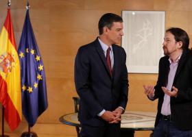 Ισπανία: Ψάχνουν λύση για σχηματισμό κυβέρνησης Σάντσεθ-Ιγκλέσιας - Κεντρική Εικόνα