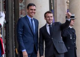 Συνάντηση Μακρόν-Σάντσεθ στο Παρίσι - Κεντρική Εικόνα