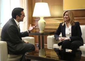 «Ναι» Τσίπρα σε διάλογο με Γεννηματά για προοδευτική συνταγματική αναθεώρηση - Κεντρική Εικόνα