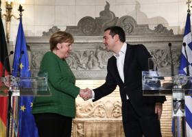 Στήριξη Μέρκελ σε οικονομία, συμφωνία Πρεσπών  - Κεντρική Εικόνα