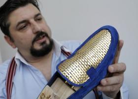 Νέα κολεξιόν Antonio Vietri: Χειροποίητα παπούτσια από ατόφιο χρυσάφι - Κεντρική Εικόνα