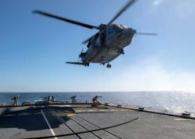 Καναδικό ελικόπτερο κατέπεσε στο Ιόνιο κατά της διάρκεια ΝΑΤΟϊκής άσκησης - Στις έρευνες συνδράμει ελικόπτερο του ΠΝ - Κεντρική Εικόνα