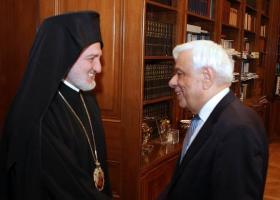 Συνάντηση Παυλόπουλου με τον αρχιεπίσκοπο Αμερικής Ελπιδοφόρο - Κεντρική Εικόνα