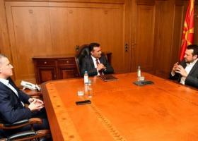 Συνάντηση Ζάεφ-Παππά στην Βόρεια Μακεδονία - Κεντρική Εικόνα