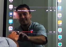 Τα... σπάει ο πρώτος καθρέφτης iphone (video) - Κεντρική Εικόνα