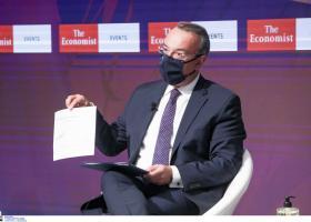 Σταϊκούρας-συνέδριο Economist: Η Ελλάδα ενίσχυσε τα ταμειακά της διαθέσιμα - Κεντρική Εικόνα