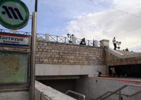 Άνοιξε ο σταθμός «Σύνταγμα» του μετρό - Κεντρική Εικόνα