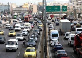 Ημέρα κυκλοφοριακού χάους στους δρόμους της Αθήνας - Κεντρική Εικόνα