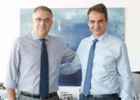 Συνάντηση Κ. Μητσοτάκη με τον υπουργό Εσωτερικών Τ. Θεοδωρικάκο - Κεντρική Εικόνα