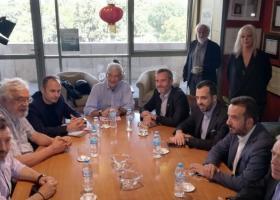 Συνάντηση του Γιάννη Μπουτάρη με το νέο δήμαρχο, Κωνσταντίνο Ζέρβα - Κεντρική Εικόνα