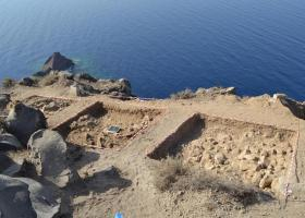 Θηρασία: Μετάθεση του χρόνου της έκρηξης του ηφαιστείου της Σαντορίνης - Κεντρική Εικόνα