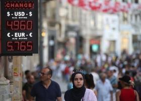 Η οικονομία της Τουρκίας εισήλθε σε υφεσιακή πορεία για πρώτη φορά από το 2009 - Κεντρική Εικόνα