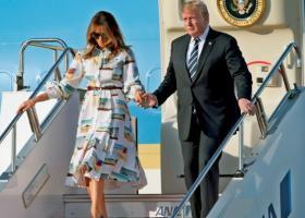 Έφτασε στην Ιαπωνία ο Ντόναλντ Τραμπ - Κεντρική Εικόνα