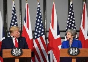 Ευκαιρίες περαιτέρω συνεργασίας βλέπουν Τραμπ και Μέι - Κεντρική Εικόνα