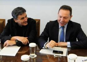 Αξιολόγηση και τράπεζες στο επίκεντρο της συνάντησης Τσακαλώτου - Στουρνάρα - Κεντρική Εικόνα