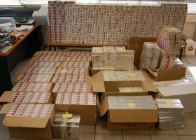 Θεσσαλονίκη: Κατασχέθηκαν πάνω από 22.000 πακέτα λαθραίων τσιγάρων - Κεντρική Εικόνα