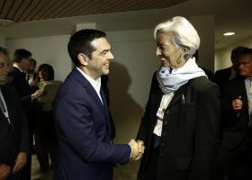 Λαγκάρντ: Θα παραμείνουμε στην Ελλάδα με τον έναν ή τον άλλο τρόπο - Κεντρική Εικόνα