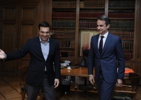 MRB: Με 13 μονάδες μπροστά η ΝΔ έναντι του ΣΥΡΙΖΑ - Κεντρική Εικόνα